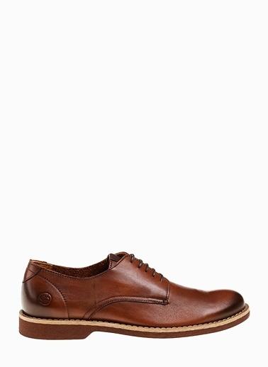 Divarese %100 Deri Bağcıklı Ayakkabı Taba
